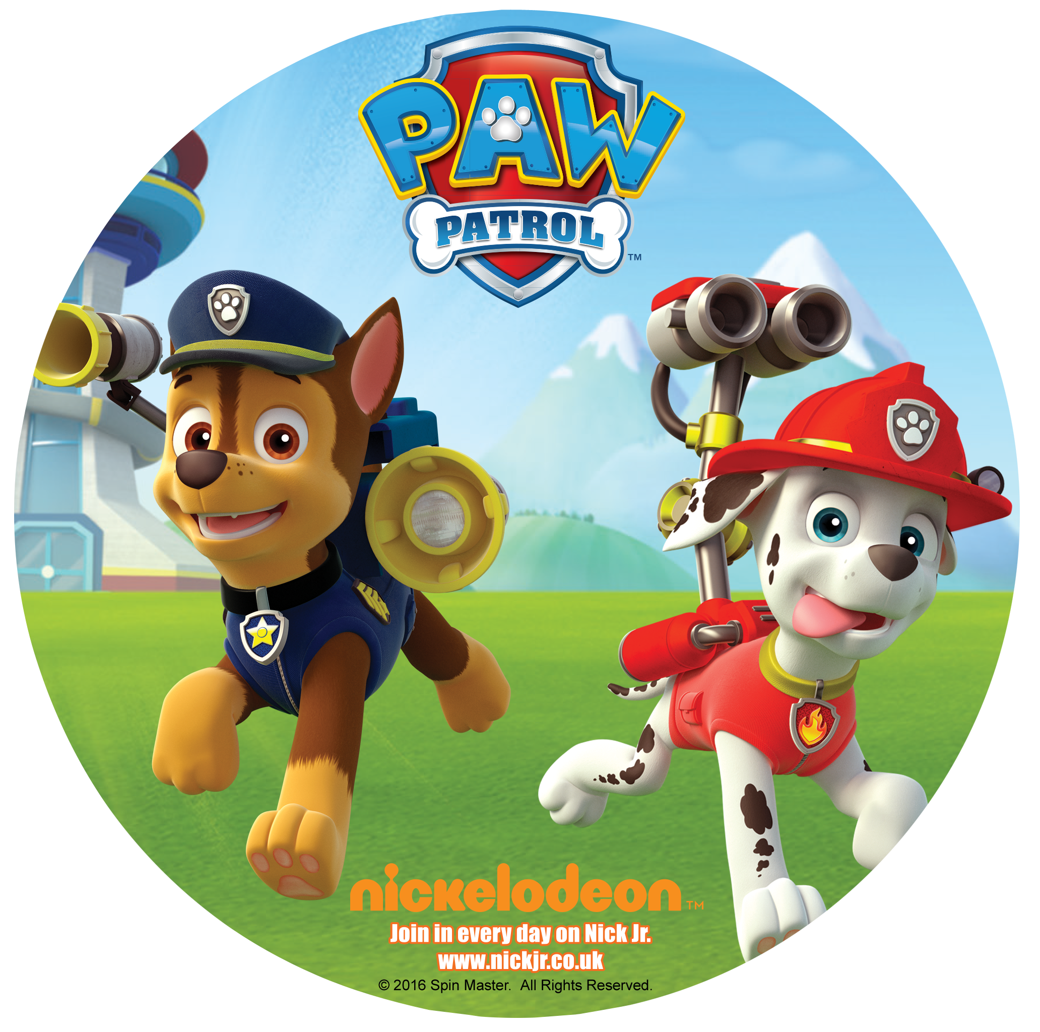 Chase paw patrol png. Marshall from set to