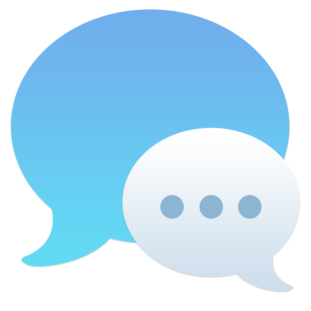 Chat icon png. Ios inspired mac set