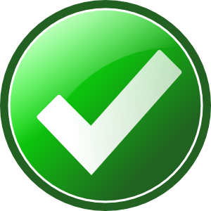 svg checkmark clear background