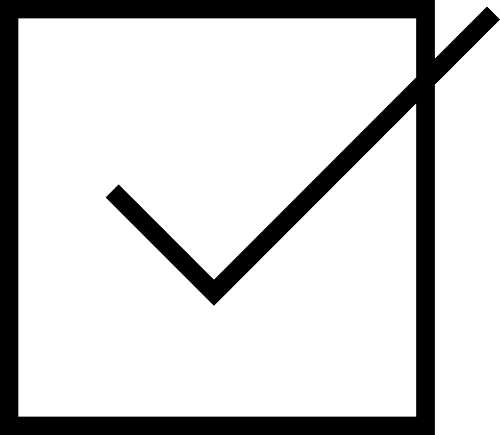 Check mark box png. Tick with a svg