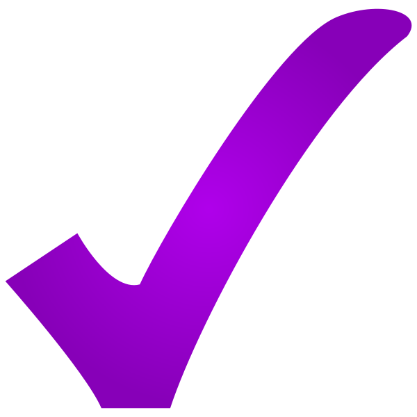 Check mark clipart png. Image purple tiny village