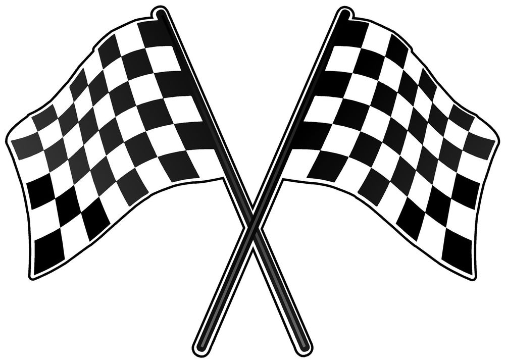 Checker flag. Free checkered clipart download