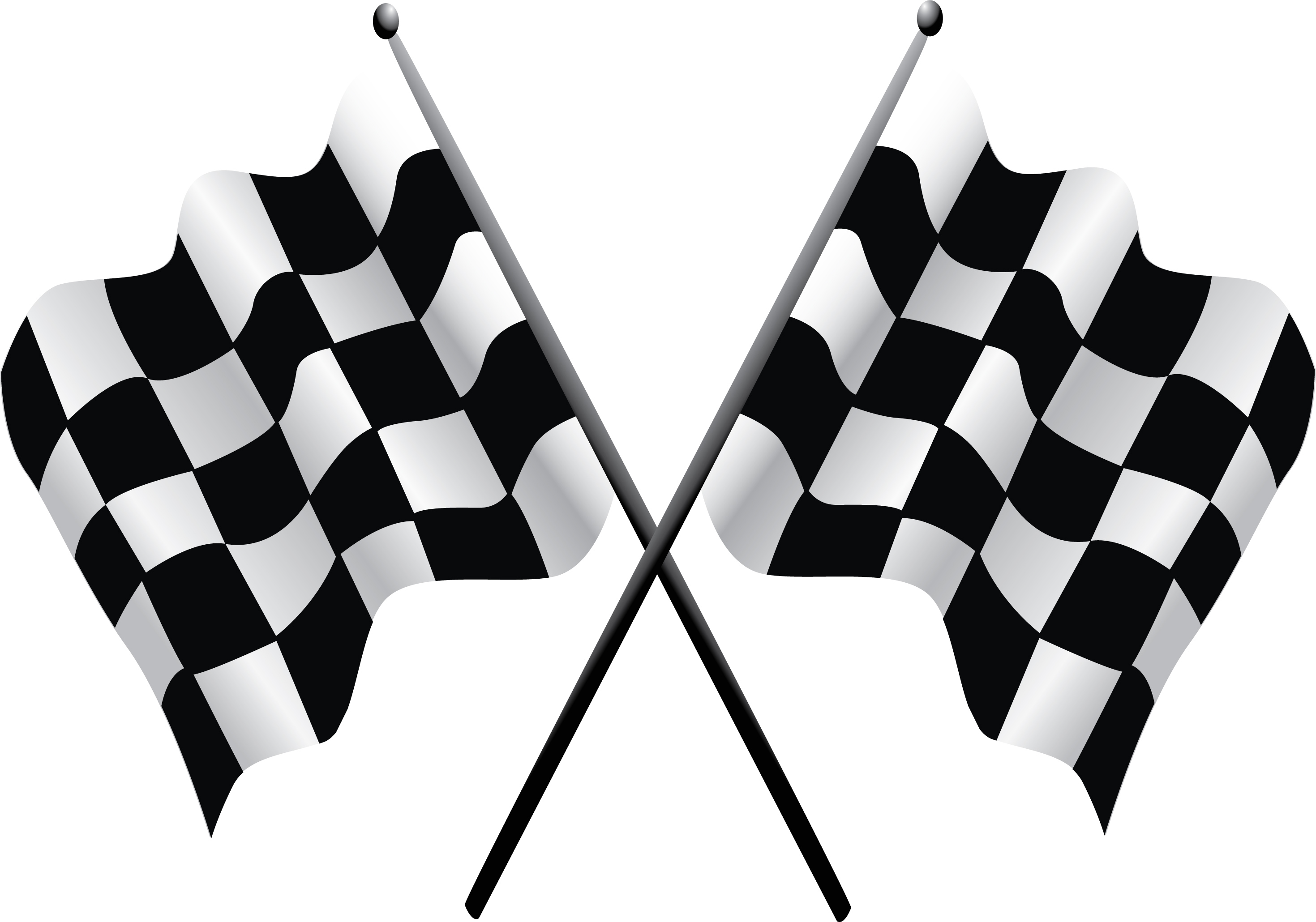 Checker flag. Free racing flags download