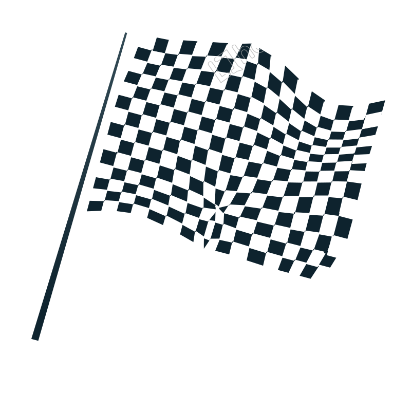 Vector wheat banner. Black and white flag