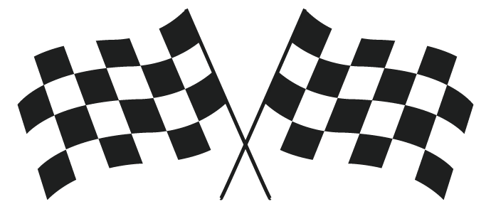 Checkered banner png. Flag clipart grand prix
