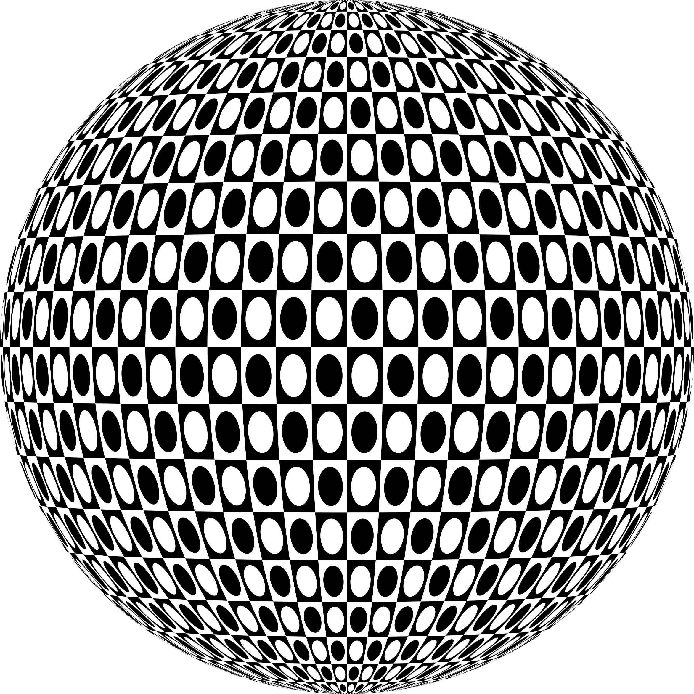 Checkered drawing abstract. Sphere icons png free