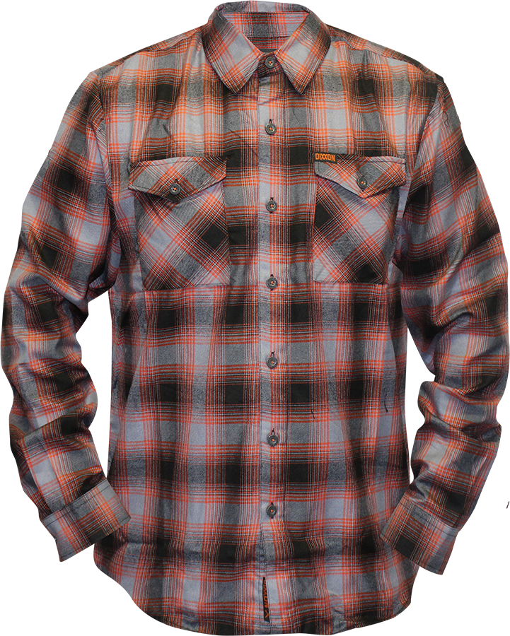 Checkered drawing checked shirt. Dixxon flannel company flannels