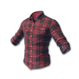 Checkered drawing checked shirt. Buy sell pubg red