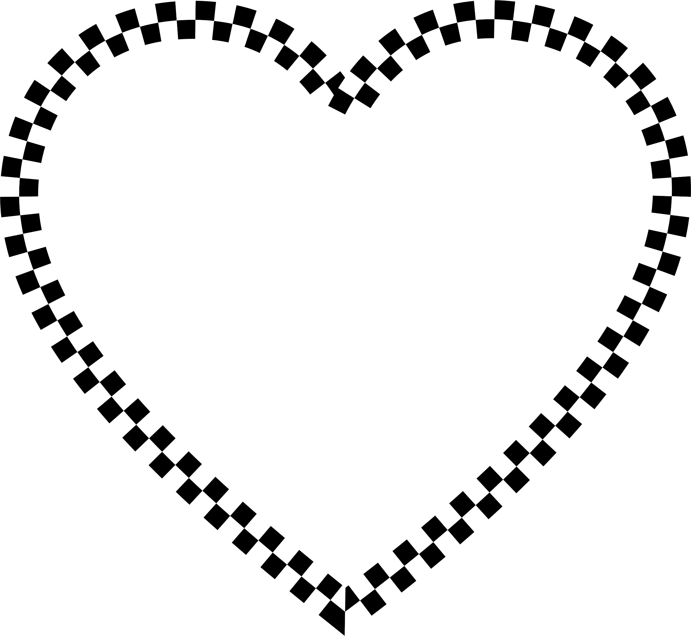 Checkered vector svg. Heart free rr collections