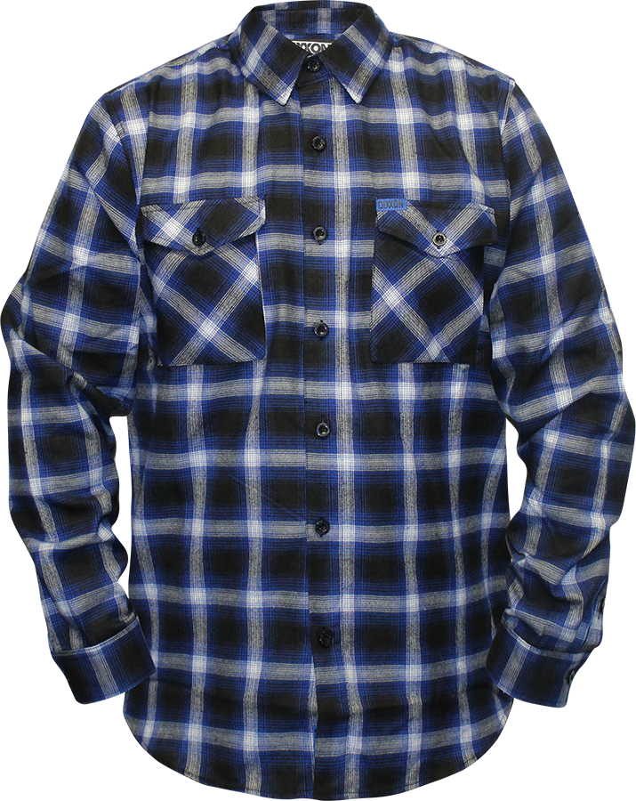 Checkered drawing flannel pattern. Dixxon company flannels plaid