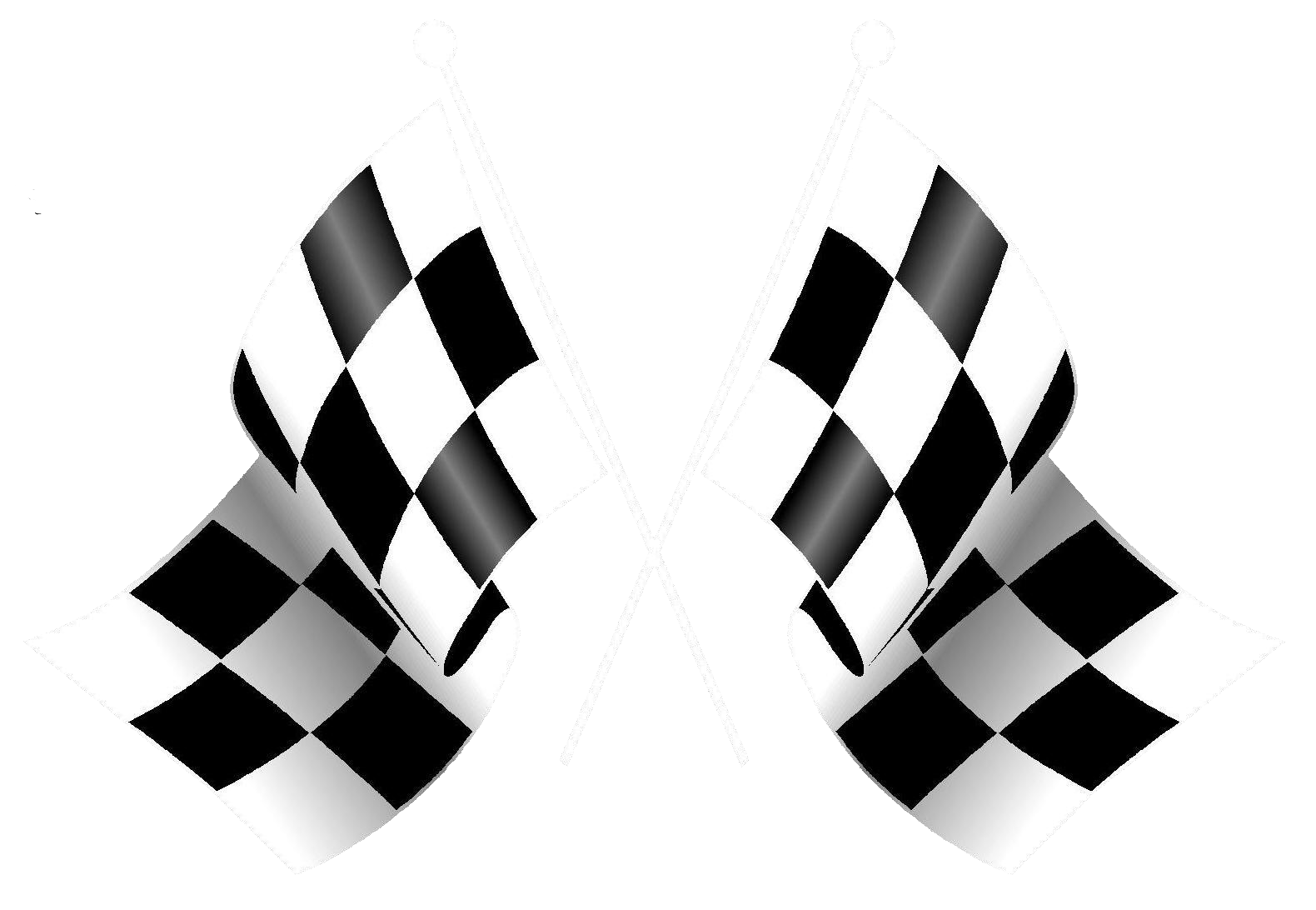 checkered vector trible