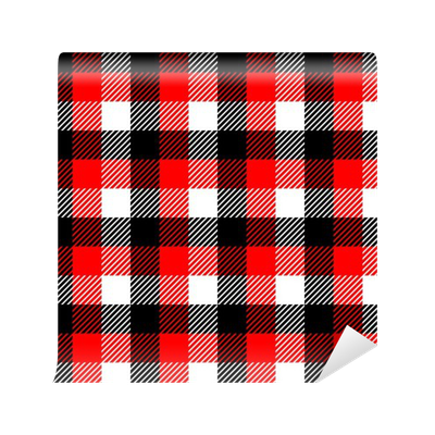 Checkered vector gingham. Fabric seamless pattern in