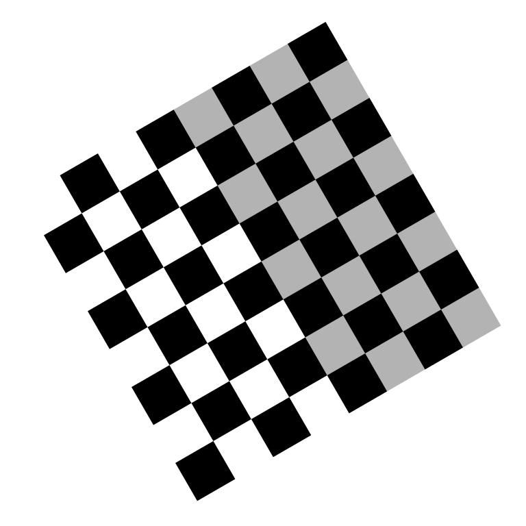 Checkered vector gray white. File checkerboard rotate svg
