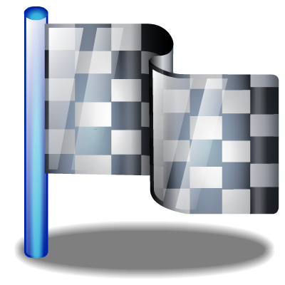 Checkered vector high resolution. Flag free icons and