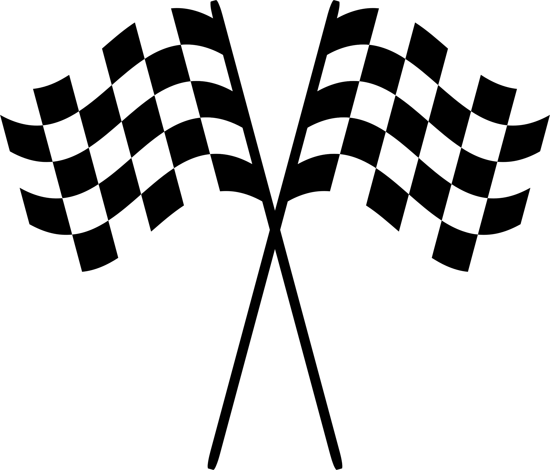 Checkered vector svg. Racing flags icons png