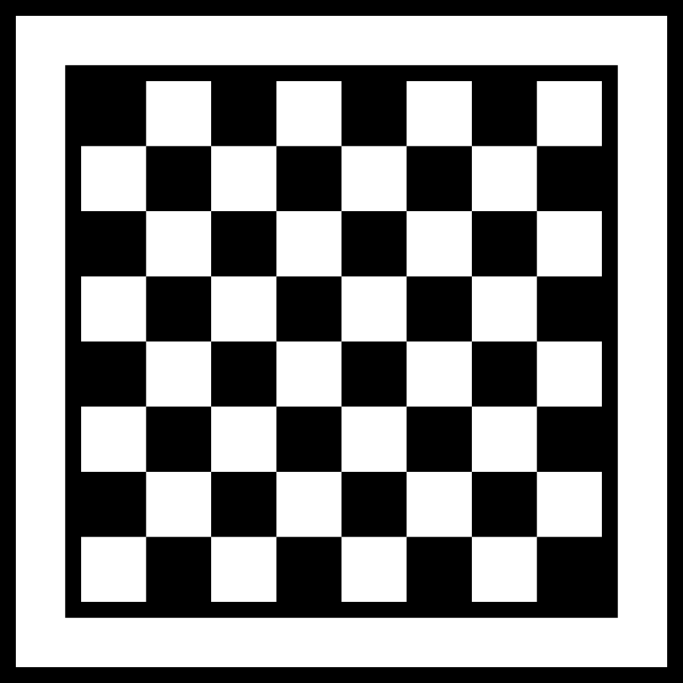 Checkered vector svg. Chess board checkers strategy