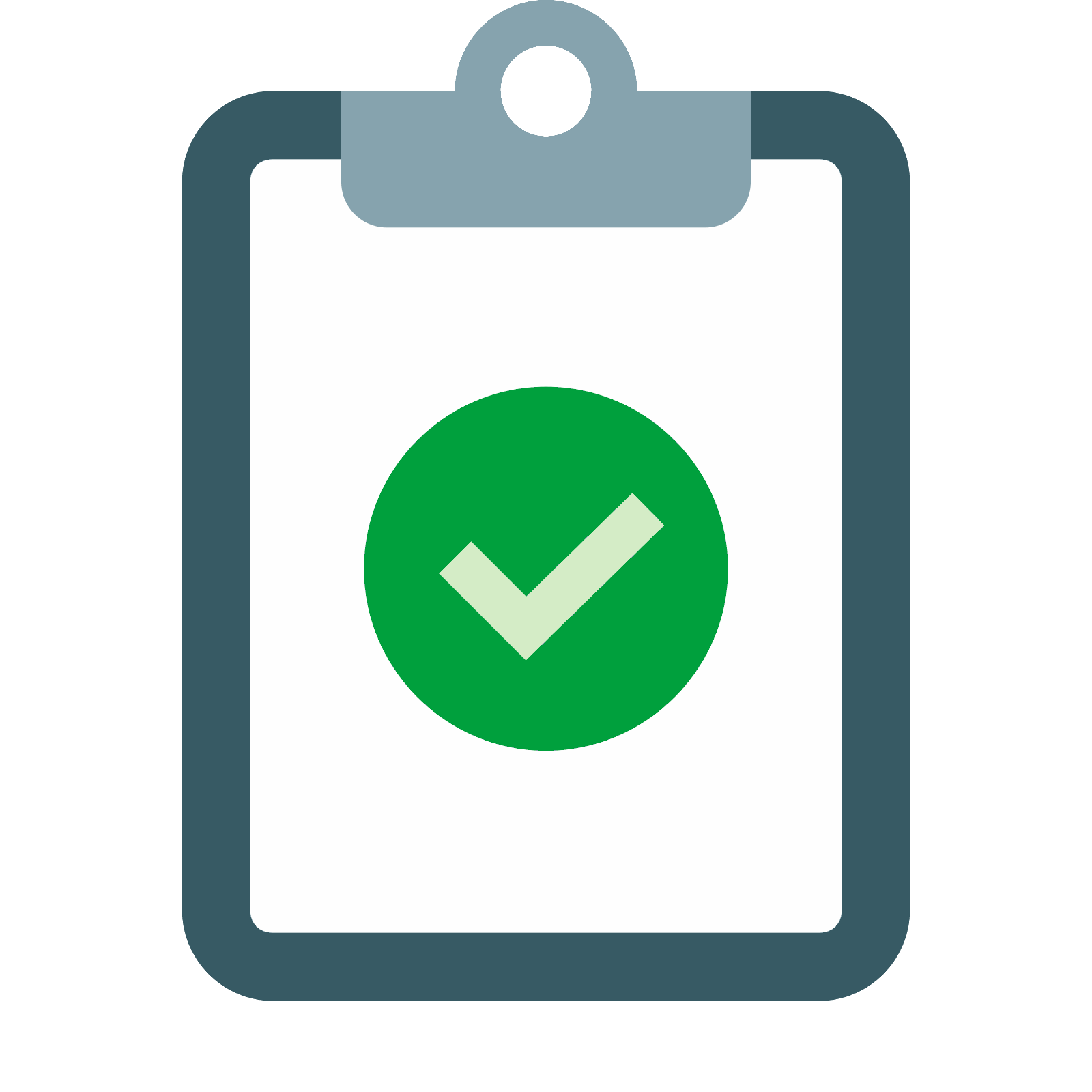 Checklist 3d png. Task completed icon free