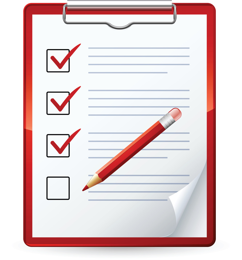 Check list to your. Checklist clipart safety checklist image download