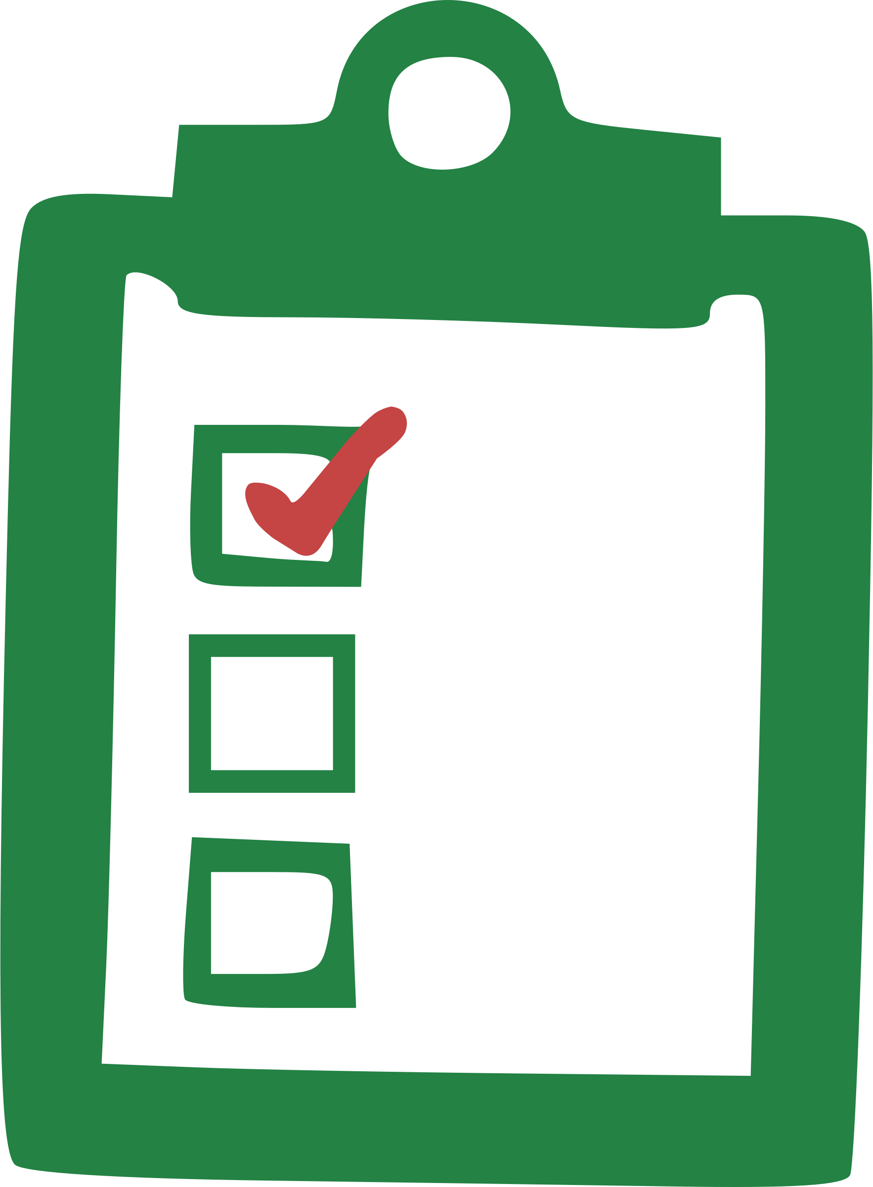 Checklist clipart thing. Big image png