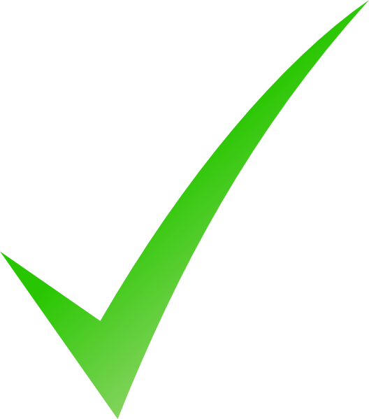 Checkmark png no background. Green tick images transparent