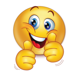 Emoji clipart thumbs up. Cheer happy two