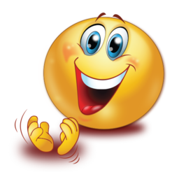 Cheer clipart emoji. Happy clapping hands