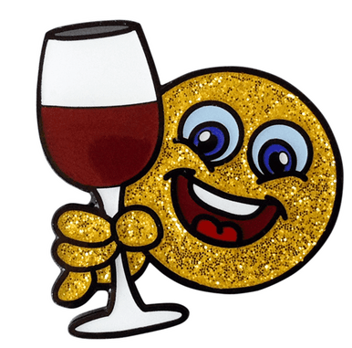 Cheer clipart emoji. Cheers smiley face ball