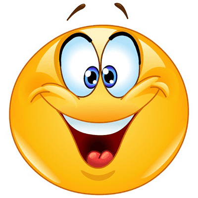 Cheer clipart emoji. This smiley is in
