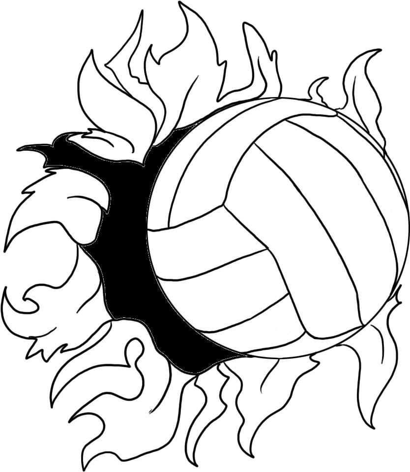 Volleyball my sport doodles. Cheer drawing download