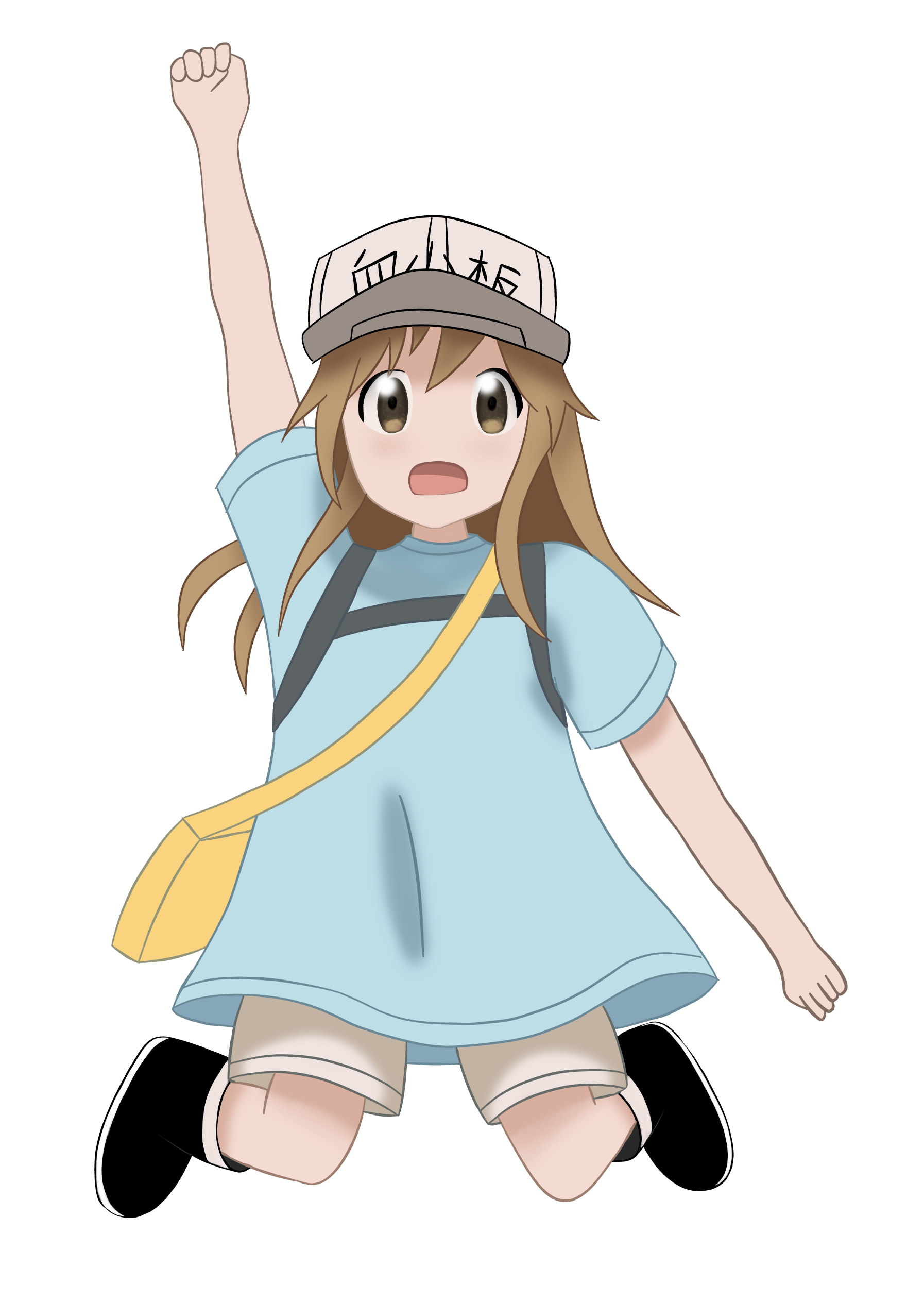 Cheer drawing anime. Oc fanart platelet cheers
