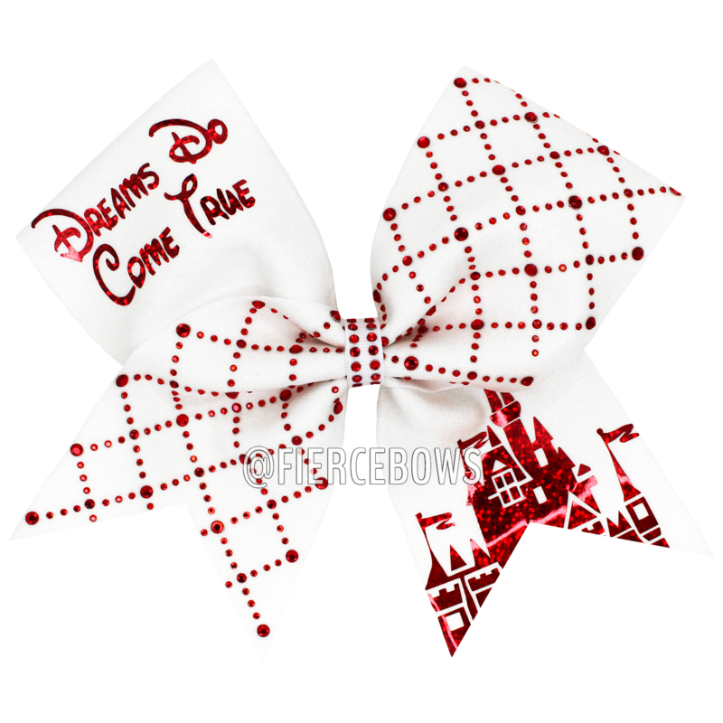 Cheer drawing bow. Dreams do come true