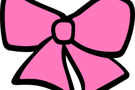 Cheer drawing bow. Download wallpaper clipart full