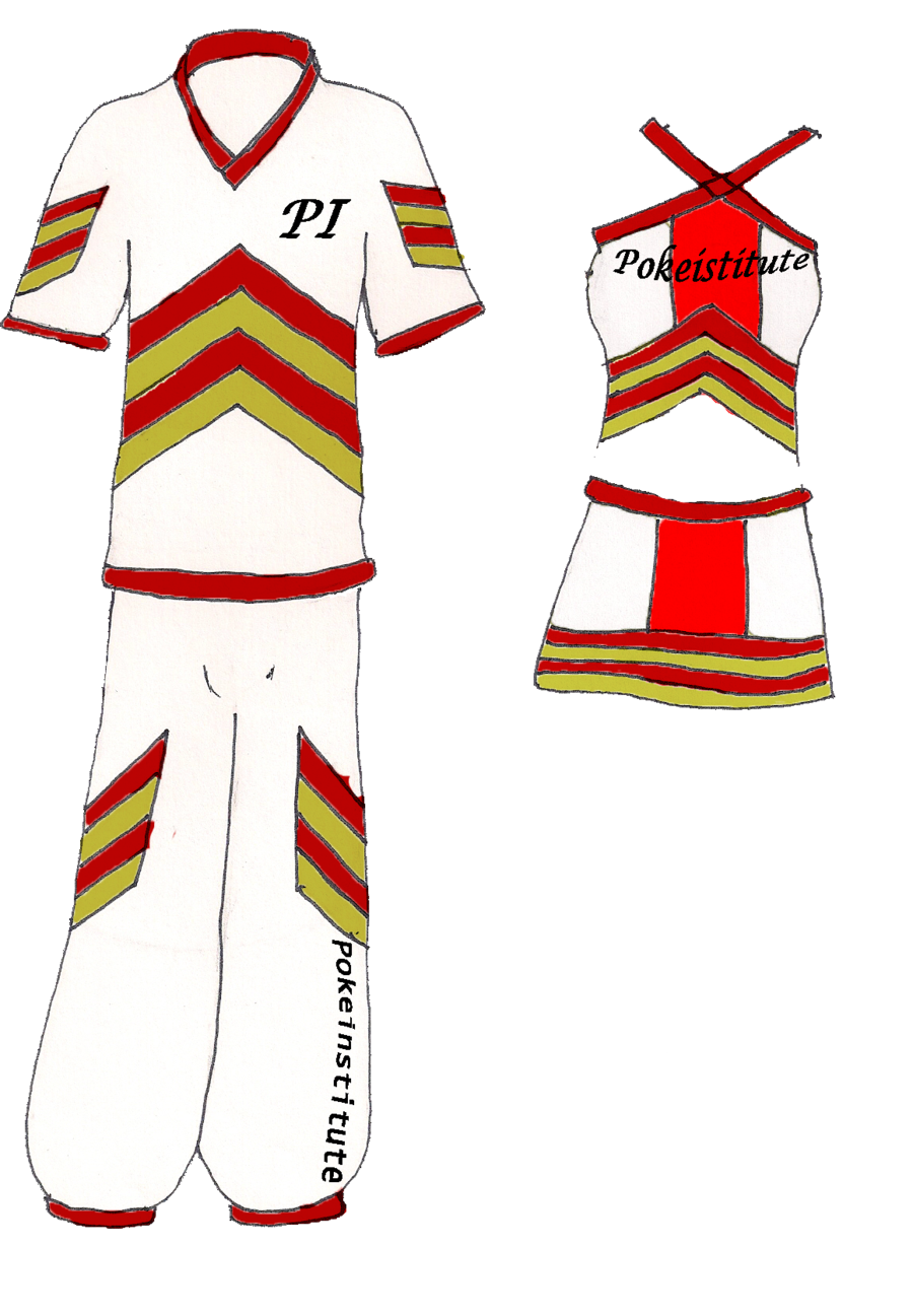 Cheer drawing cheerleader outfit. Pokeinstitute cheerleading uniforms by