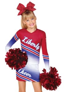 Cheer drawing cheerleader outfit. China cheerleading uniforms manufacturers