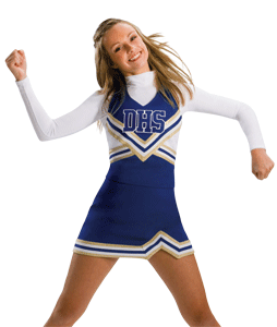 Cheer drawing cheerleader outfit. Youth practice wear google
