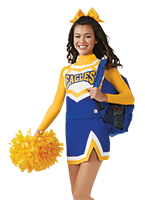 Cheer drawing cheerleader outfit. Create your own custom