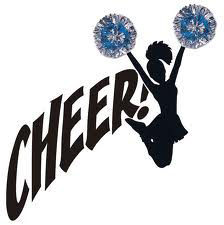 Cheerleading clipart black and white. Free clip art pictures