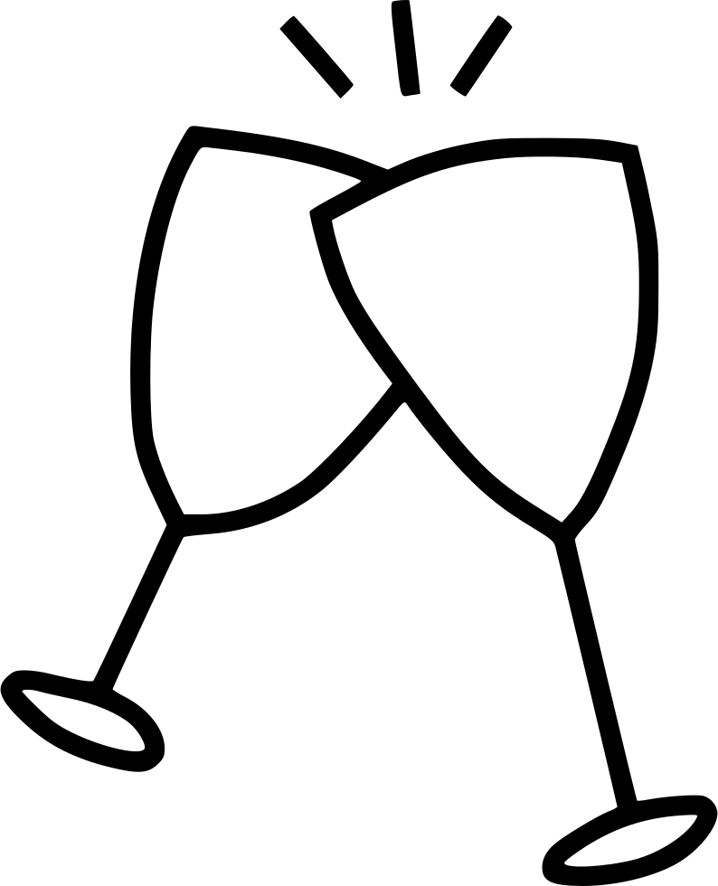 cheers drawing