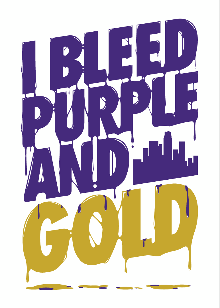 Cheers clipart purple gold. I bleed and lakers