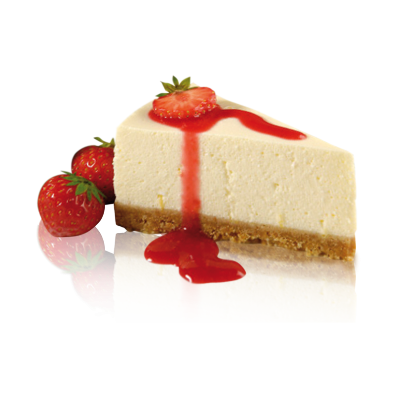 Cheese cake png. Strawberry factory orlando european