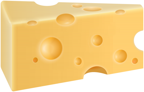 Cheese clipart. Single slice swiss png