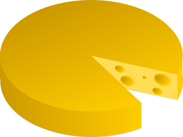 Cheese clipart round cheese. Food clip art at