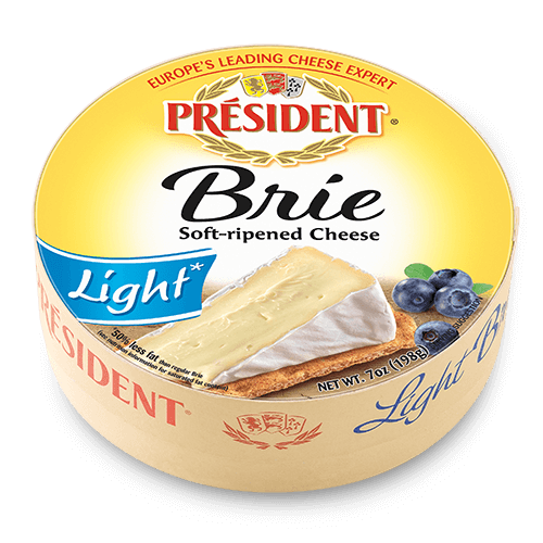 Cheese clipart round cheese. Pr sident brie light