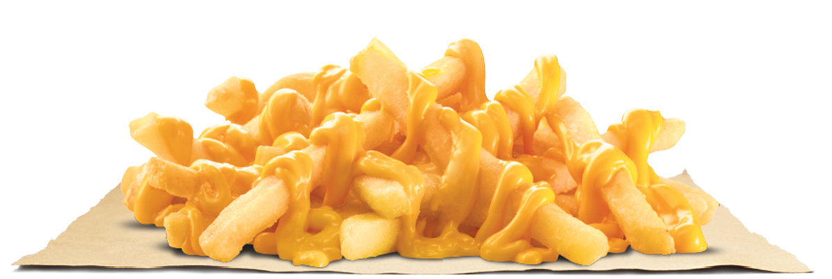 Cheese fries png. Cheesy burger king bangladesh