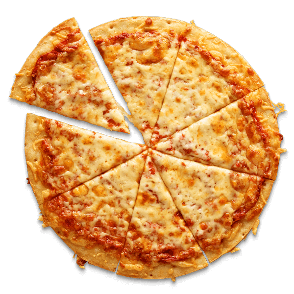 Cheese pizza png. Three caulipower