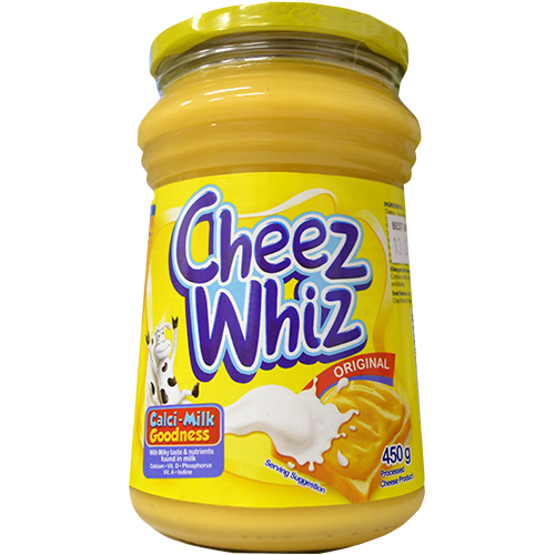 Cheese whiz png. Kraft cheez regular l