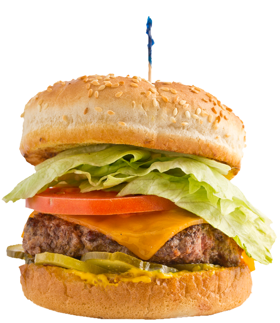 Huey s meat our. Cheeseburger clipart fish transparent download