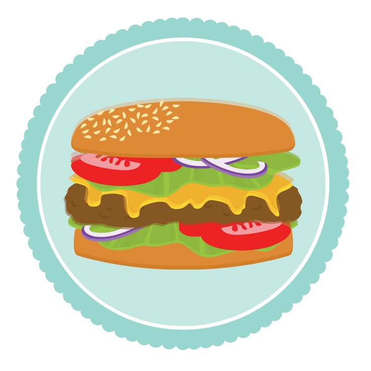 best burgers illustration. Cheeseburger clipart grilled hamburger graphic free download