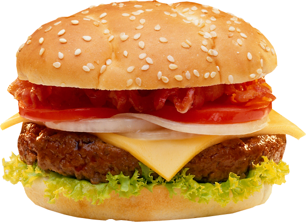Cheeseburger transparent png. Background