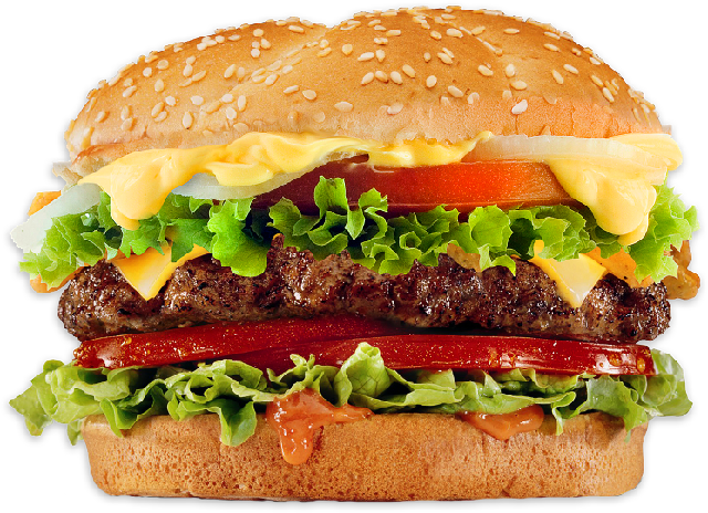 Cheeseburger transparent png. Fast food pictures free